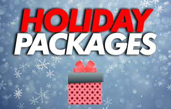 Get your Chevrolet Nationals Package in Time for the Holidays!