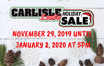 Save 20% during the Annual Holiday Sale